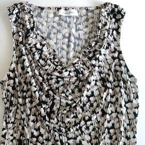 Calvin Klein neutral blouse size S